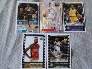 Pack 5 cromos NBA 2019-20 sticker collection