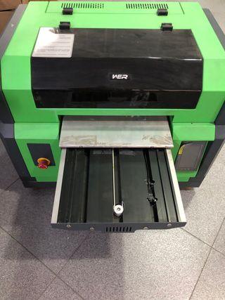 Impresora uv A3 Error posición