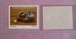 Francia 2012 Deporte, Petanca sellos nuevos. MNH