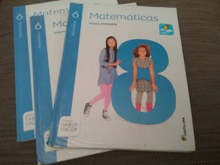 MATEMATICAS 6. SANTILLANA