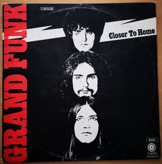 GRAND FUNK - CLOSER TO HOME - ORIGINAL 1970