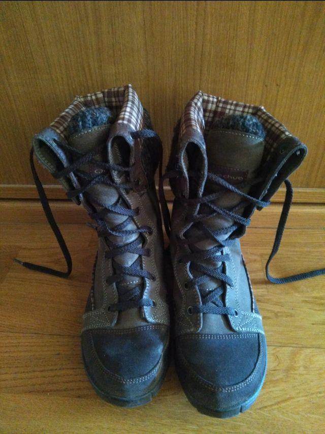 botas de nieve Decathlon