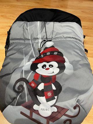 Saco invierno para carrito de bebé