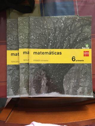 Libro matemáticas SM sexto de primaria