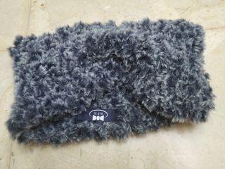 Cuello de lana para niñ@s azul hecho a mano