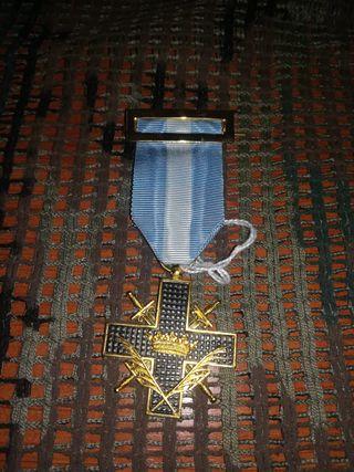 Medalla Militar Cruz de Guerra con Palmas