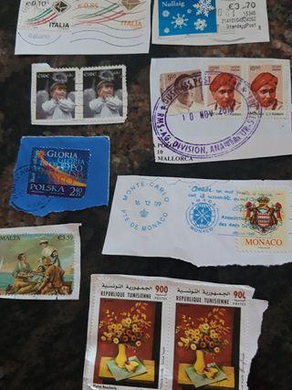 13 sellos internacionales