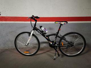 "Bicicleta infantil 24"" como nueva"