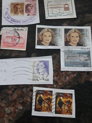 10 sellos internacionales