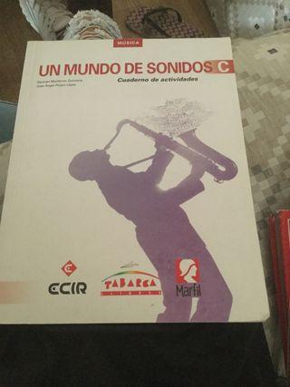 Cuaderno actividades de musica