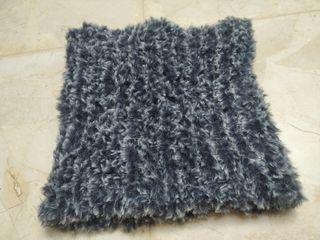 Cuello de lana para adultos Unisex hecho a mano