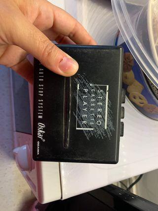 Walkman+auriculares(o cinta a elegir)