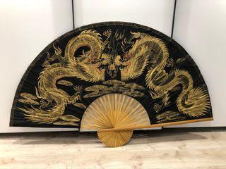 Abanico japonés GIGANTE 2,16m x 1,27m