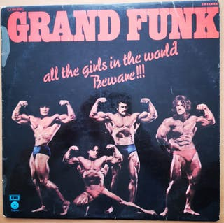 GRAND FUNK - ALL THE GIRLS IN THE WORLD - COMPLETO