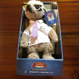 Sergei Meerkat New Plush Toy in Box Certified