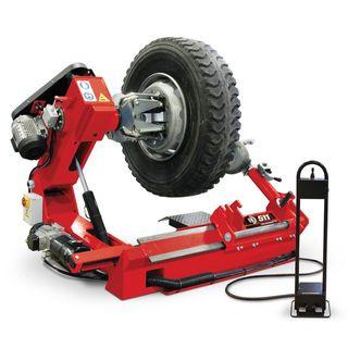 tractor desmontadora de ruedas