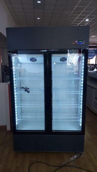 Armario snack refrigerado bebidas doble