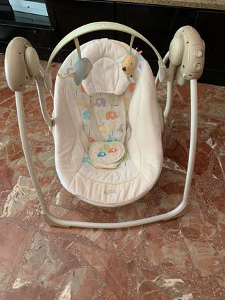 Mecedora portátil, columpio bebé