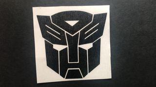 Pegatina AutoBots saga Transformers