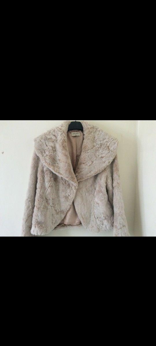 womans fur coat