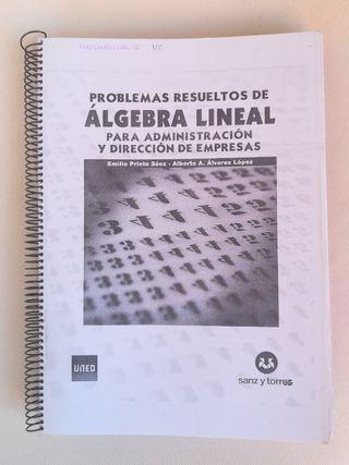 Problemas Resueltos De Álgebra Lineal Uned