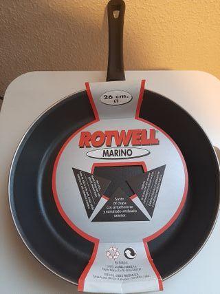 Sartén NUEVA Rotwell Marino de 26 cm de diámetro