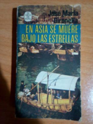 En Asia se muere bajo las estrellas, libro