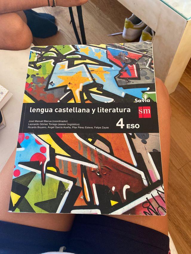 Libro lengua y literatura 4 eso sm