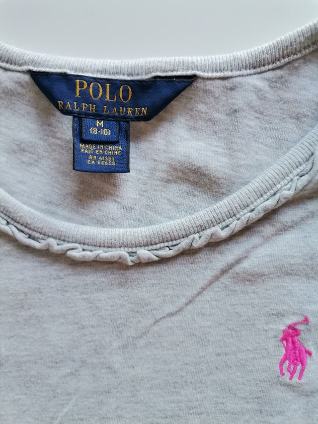 Camiseta niña Ralph Lauren
