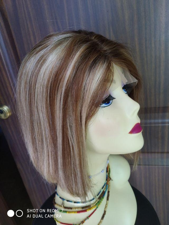 peluca natural