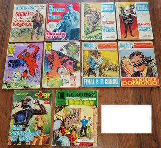 10 Comics Ediciones Toray, I.M.D.E. Y Euredit