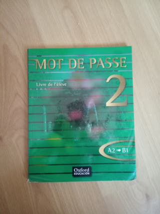 mot de passe 2 A1, B1 Francés, Oxford.
