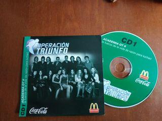 CD operacion triunfo