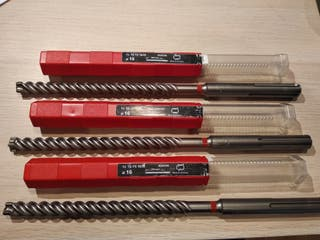 Brocas HILTI TE-YX 16/35 totalmente nuevas.