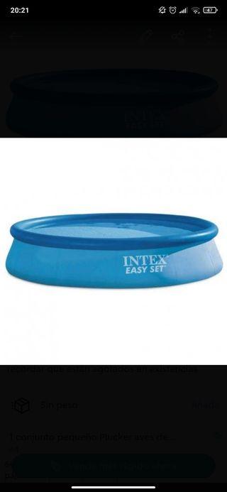 piscina Intex como nueva 3.96cm x 0.84cm