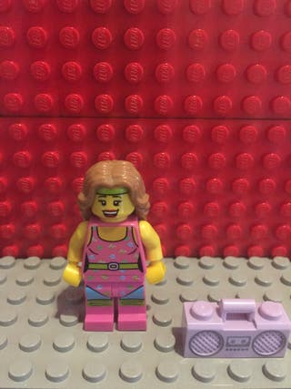 Lego Minifigura Fitness Instructor lego