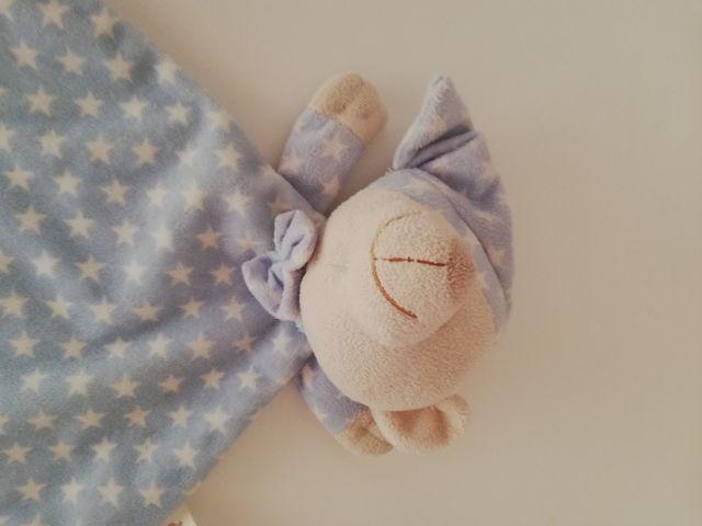 Doudou azul bebe
