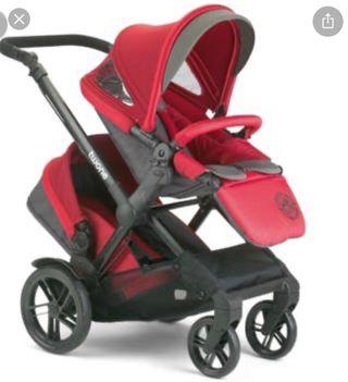Jane twone (carrito gemelar ) silla de paseo