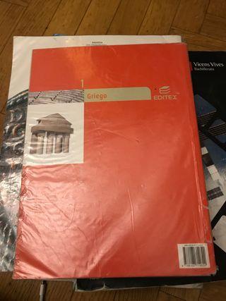 Libro Griego Editex 1 de Bachillerato