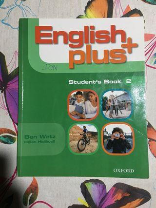 Libro English plus Student's book 2 ESO