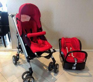 Silla y maxicosi bebé confort modelo loola