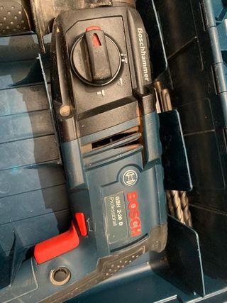 Taladro BOSCH con maletín GBH 2-20