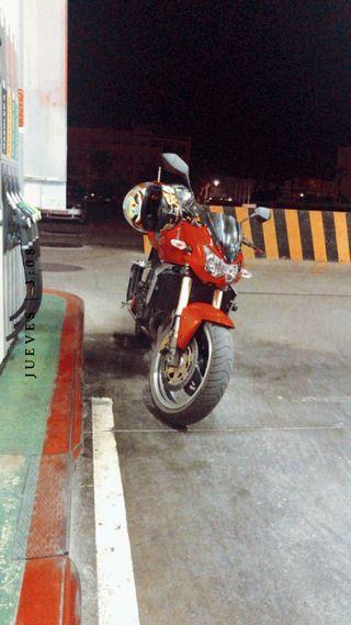 Kawasaki z750, solo 20000 kilómetros