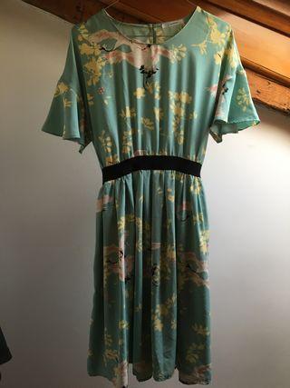 Vestido estilo japonés, talla S