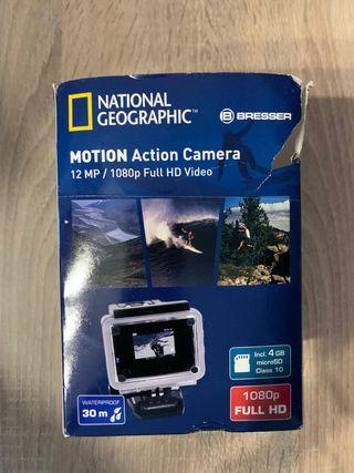 Cámara acuática National Geographic. Action Cam.