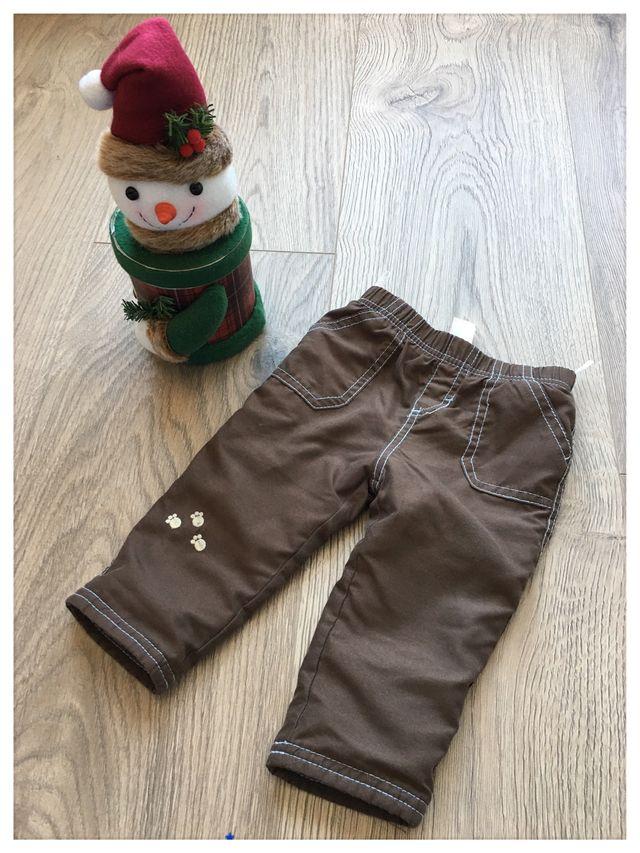 Nº101. Pantalón invierno, talla 3-6 meses (68 cm)