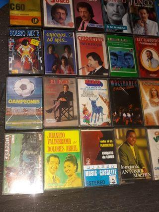cassettes antiguos