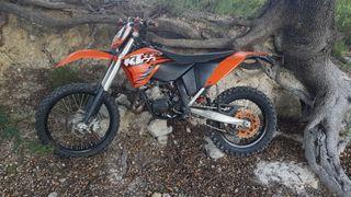 ktm exc 125cc 2010