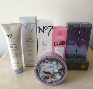 No7, Boots & Soap & Glory Beauty Products