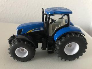 Precioso tractor NEW HOLLAND T7070 Siku 1:50